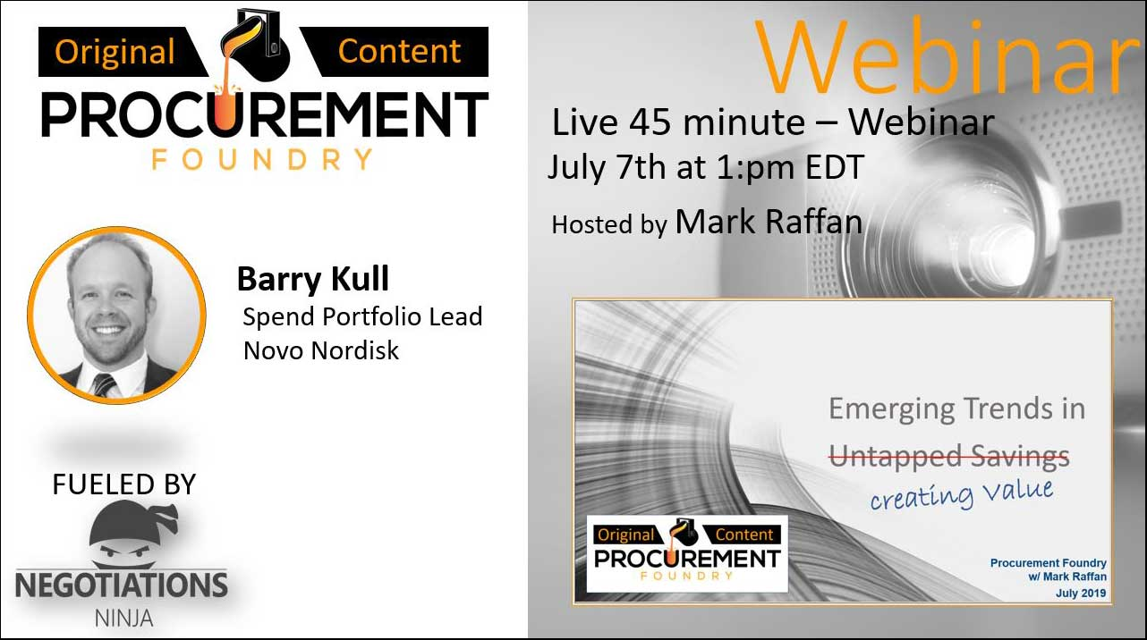 Procurement Foundry Thought Leadership Webinars
